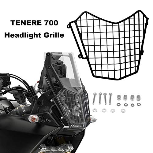 Motorcycle Headlight Grille Guard Protector For Yamaha TENERE 700 2019 2022