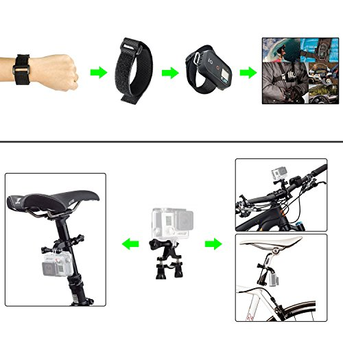 SmartSee 42-in-1 Sports Camera Kit for GoPro Hero 5 / Session 5/4/3/3+/2/1 Accessories Kit