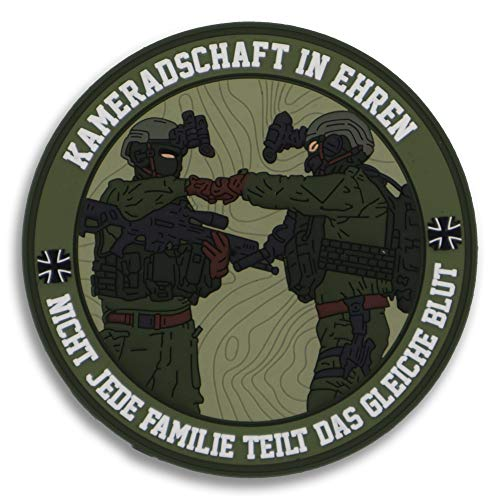 Kameradschaft Bundeswehr Fun Rubber Patch