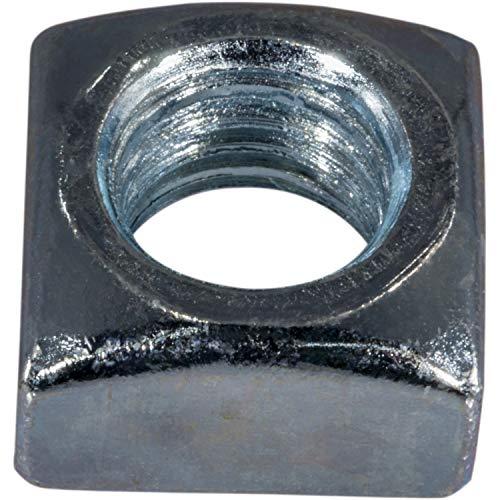 Hard-to-Find Fastener 014973401306 Coarse Square Nuts, 5/8-11-Inch, 12-Piece