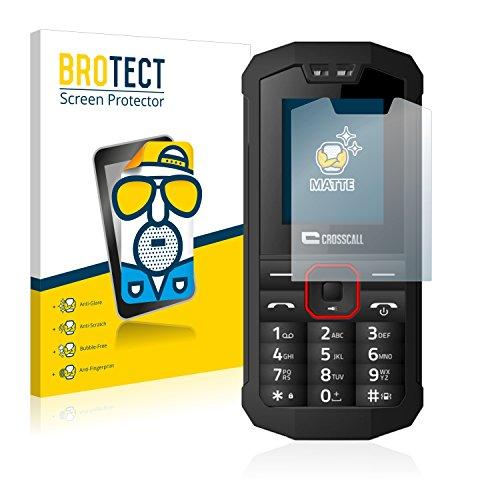 BROTECT 2X Entspiegelungs-Schutzfolie kompatibel mit Crosscall Spider X1 Bildschirmschutz-Folie Matt, Anti-Reflex, Anti-Fingerprint