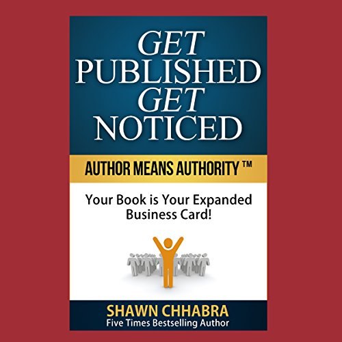 Get Published Get Noticed audiobook cover art