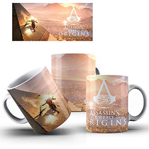 Caneca de Porcelana Presente Assassin's Creed Origins mod.76