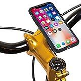 TiGRA Sport 自転車 スマホ ホルダー 防水 スマホスタンド iPhone X XS ロードバイク MountCase for iPhone XS/X【簡単2タッチで着脱】