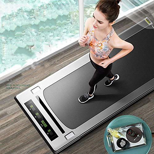 Loopband, huishoudelijke overdekte fitnessruimte gewijd eenvoudige walking machine multifunctionele flat loopband fitness loopband met afstandsbediening, geen lawaai Comfortable Fitness Equipment HRSS