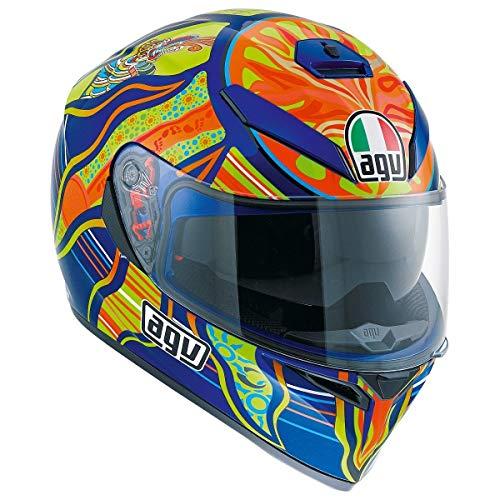 AGV Unisex-Adult Full-face-Helmet-Style K-3 SV 5-Continent (Multi, X-Large)