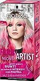Schwarzkopf Got2b Farb/Artist Haarfarbe, 100 Neon Pink, 1er Pack (1 x 80 ml)