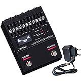 Boss EQ-200 - Ecualizador gráfico y fuente de alimentación Keepdrum de 9 V