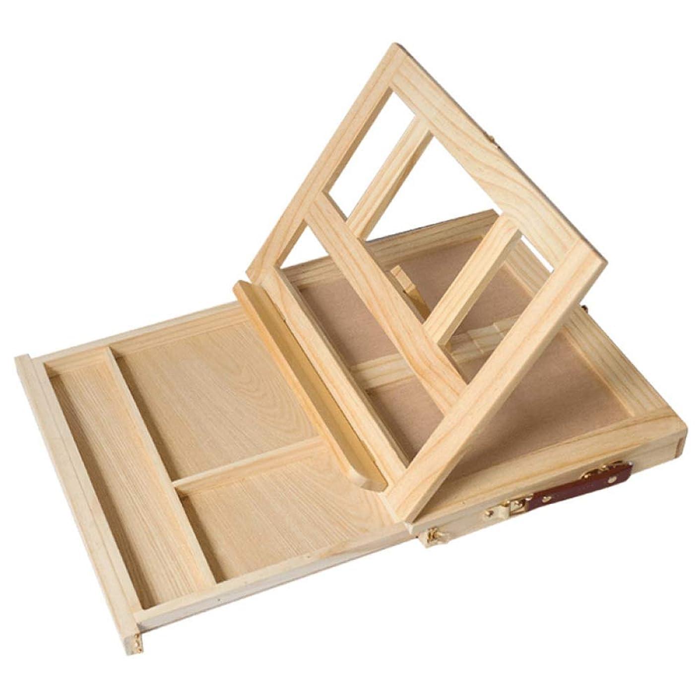 また明日ねキリン分数WANGSENO 多機能イーゼルイーゼルアーティストテーブルイーゼルポータブルマイクロデスクライト折りたたみ