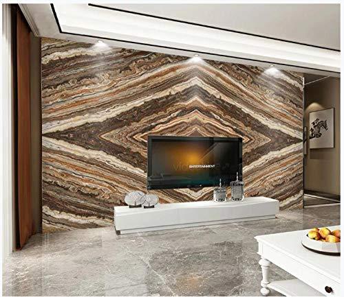 Apoart 3D Wallpaper Originele Nieuwe Atmosfeer Super Grote Plaat Hoge Grijs Marmeren Hall Vierkante Achtergrond Muur 140cmx100cm