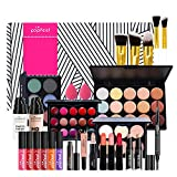 Joyeee All-in-One Makeup Gift Set Travel Makeup Kit Complete Starter Makeup Bundle Lipgloss Lipstick Concealer Blushes Powder Eyeshadow Palette Cosmetic Palette for Teen Girls & Adults #1