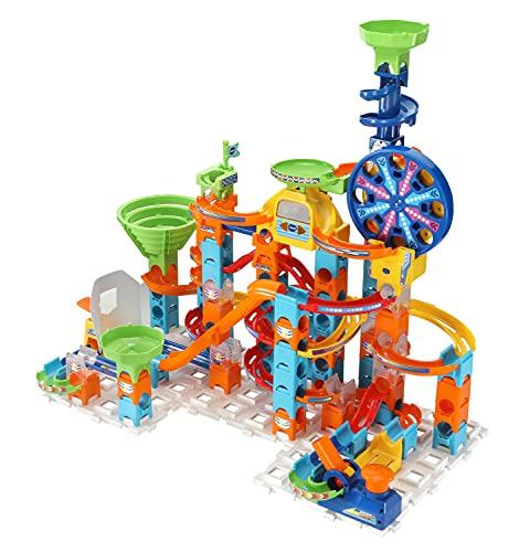 VTech VTech-80-542349 Marble Rush Ultimate Set Electronic XL100E-Circuito de canicas-Juguetes de construcción niños +4 años-Versión ESP (3480-542349), Color