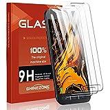 SHINEZONE Panzerglas für Samsung Galaxy Xcover 4s, (3 Stück) 9H Härte Anti-Kratzen,Anti-Fingerabdruck,Anti-Öl Schutzfolie HD Bildschirmschutzfolie für Samsung Galaxy Xcover 4s