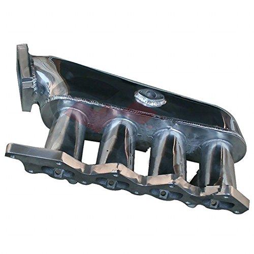 Gowe Aluminium du Collecteur d'admission Collecteur Turbo pour Mitsubishi Lancer Evolution 4–9 4 25 1unit Chrome Cast