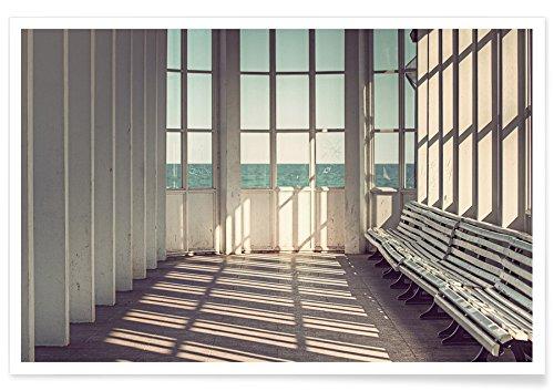 """JUNIQE® Reise Architekturdetails Poster 20x30cm - Design """"Ostsee"""" entworfen von Michael Belhadi"""