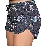 ZEZKT Pantalones Cortos de Mujer Cortos de Cintura EláStica Pantalones Cortos Pantalones de Entrenamiento Pantalones Cortos de Yoga para Mujer Pantalones de Yoga Mujeres