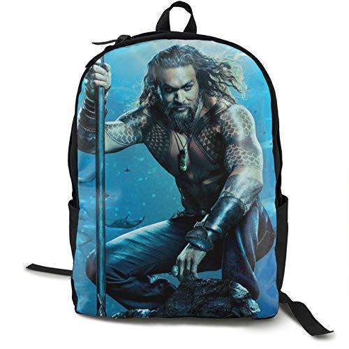 Aquaman - Mochila de viaje impermeable para gimnasio, escuela, compras, yoga, senderismo, playa