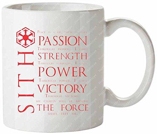 The Sith Code Star Wars Knights Of The Old Republic Tea Cups Mug/Tazas de desayuno Cup