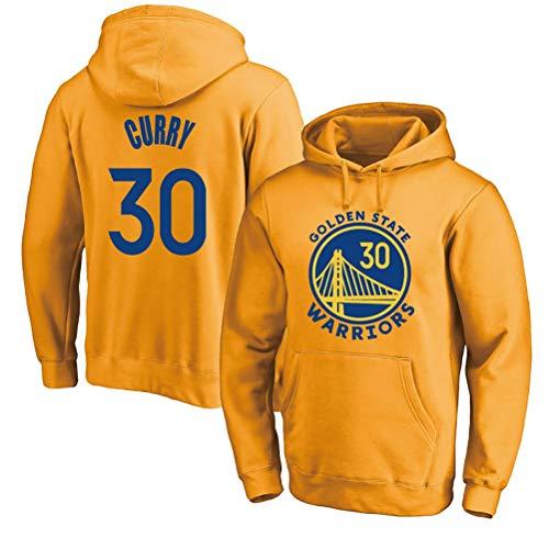 Rencai Stephen Curry # 30 Sudadera con Capucha, de Golden State Warriors Hombres Camiseta de Manga Larga con Capucha for niños Baloncesto (Color : 4, Size : L)