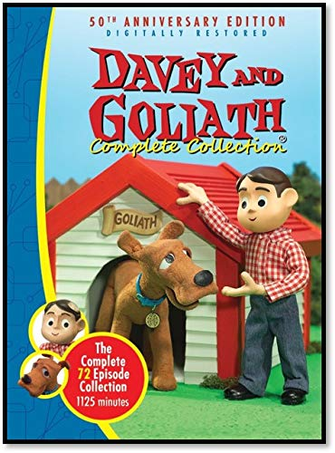 DVD-Davey and Goliath Complete Collection-72 Episodes- New: All Episodes on 5 DVDs