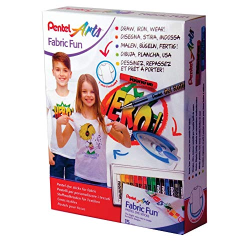 Pentel Fabric Fun T-shirt met projectset
