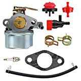 640084B Carburetor for Tecumseh 5HP MTD 632107A 632107 640084 640084A for Toro 521 Snow Blower HSSK40 HSSK50 HS50 LH195SA - for Tecumseh 632107 Carburetor LH195SA
