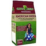 Greenfield 17808 American Green Semences pour Gazon dans Sac à Fond Plat 5 kg