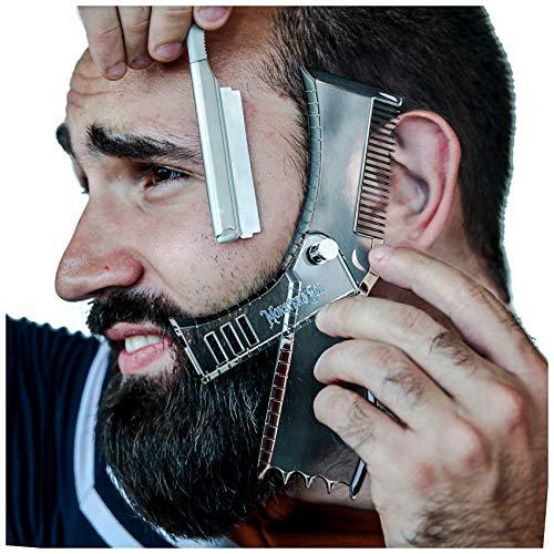 Monster&Son Rotary Beard Shaper - Revolutionary Compact Shaving Template