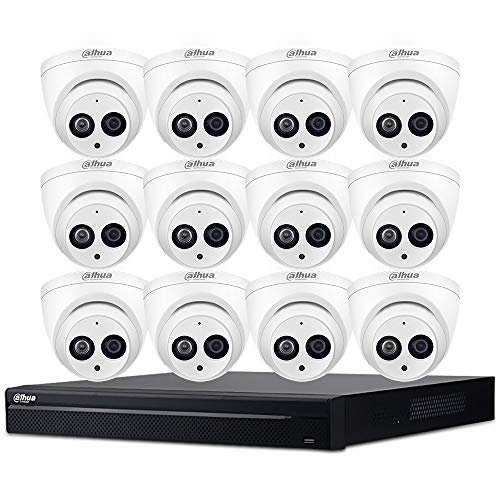 Check Out This Dahua 16CH 4MP PoE Home Security Cameras System,16 Channel Poe Network Video Recorder...