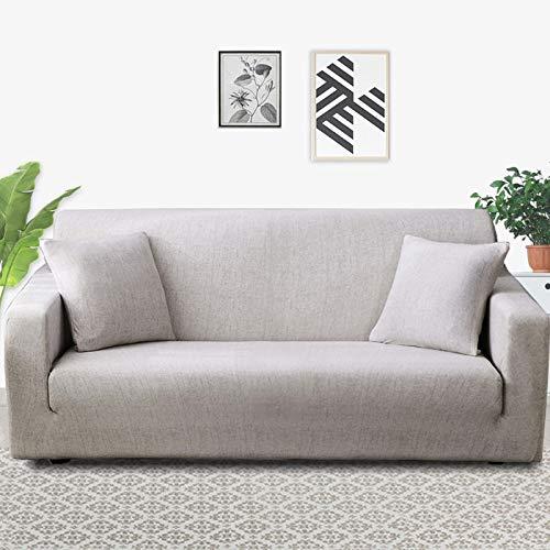 PPOS Fundas de sofá Impresas para Sala de Estar Fundas elásticas elásticas para sofá de Esquina seccionales A8 1 Asiento 90-140cm-1pc