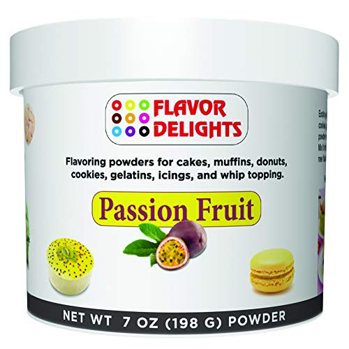 Angel Specialty Products Flavor Delights Flavored Powder Bakery Mix Passion Fruit