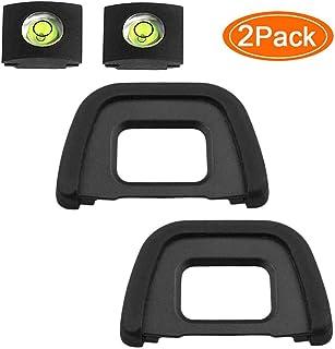 BTER Copa D750 Ocular Ocular Ojo Visor DK-23 Compatible para Nikon D7100 D7200 D7000 D600 D610, Tapa del Ocular y de la Bu...