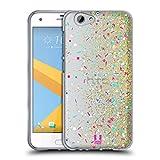 Head Case Designs Funkeln Konfetti Soft Gel Huelle kompatibel mit HTC One A9s