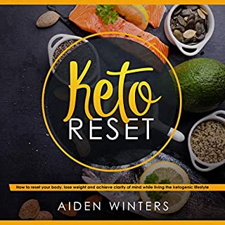 Keto Reset audiobook cover art