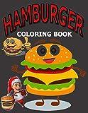 Hamburger coloring book: Funny hamburger Bob's coloring book for kids | Hotel boys hamburger coloring book