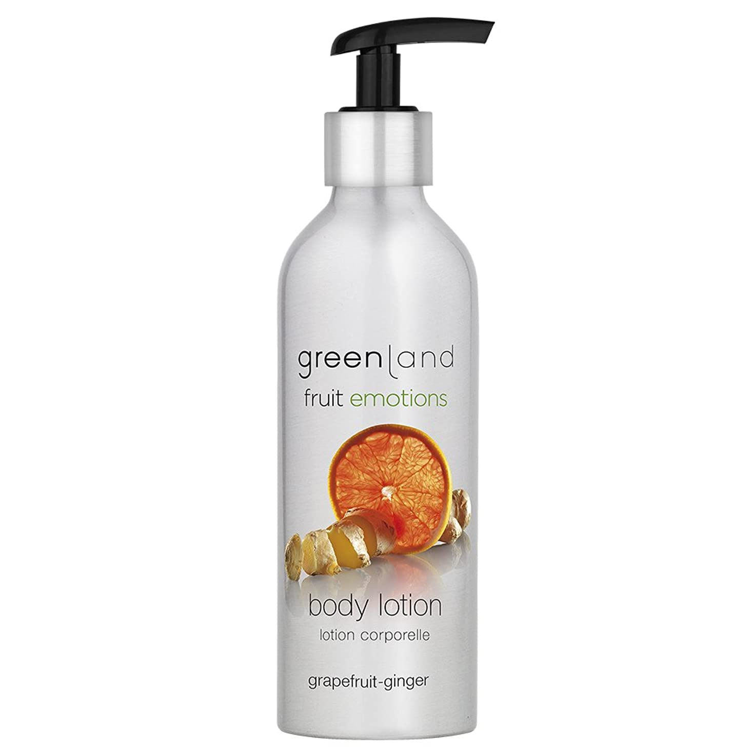 下線焼く血統greenland [FruitEmotions] ボディローション 200ml グレープフルーツ&ジンジャー FE0185