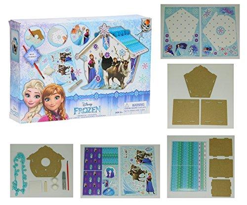 Kit Cage à oiseaux Frozen La Reine des Neiges Maison Oiseau Arbre - 287