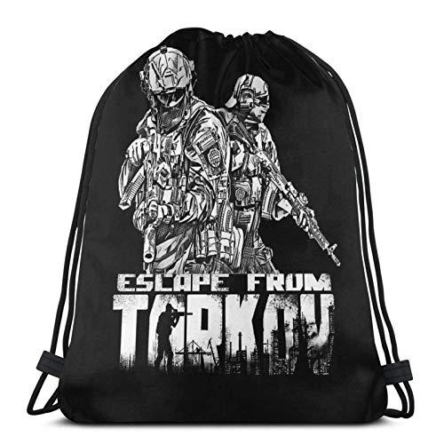 Jard-T Escape from Tarkov Sport Sackpack Kordelzug Rucksack Sporttasche Sack