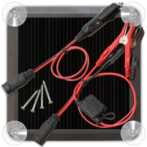 BLSOLAR2 2.5 Watt Solar Battery Charger and Maintainer