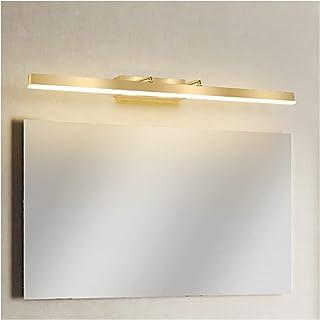 Simple 64/86/100/122cm Mirror Front Lights, Home Villa Luxury Bathroom Waterproof Fog Long Strip Vanity Dressing Table Mak...