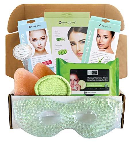 Facial Kit For Women - Includes Facial Mask, Facial Makeup Wipes, Nose...