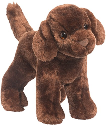 Douglas Sylvia Chocolate Lab Dog Plush Stuffed Animal