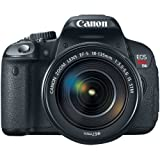 Canon EOS Rebel T4i 18.0 MP Digital SLR with 18-135mm EF-S IS STM Lens...