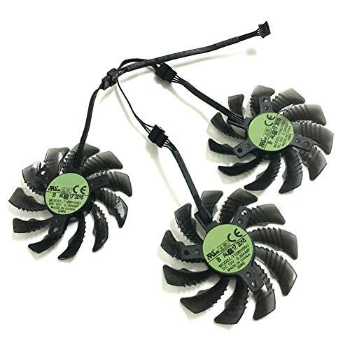 iHaospace 75mm T128010SU Cooler Fan for Gigabyte AORUS GeForce GTX 1060 1070 1080Ti G1 GTX 960 970 980 Ti GTX660 TI RX480 P104-100 Grafikkarte Lüfter