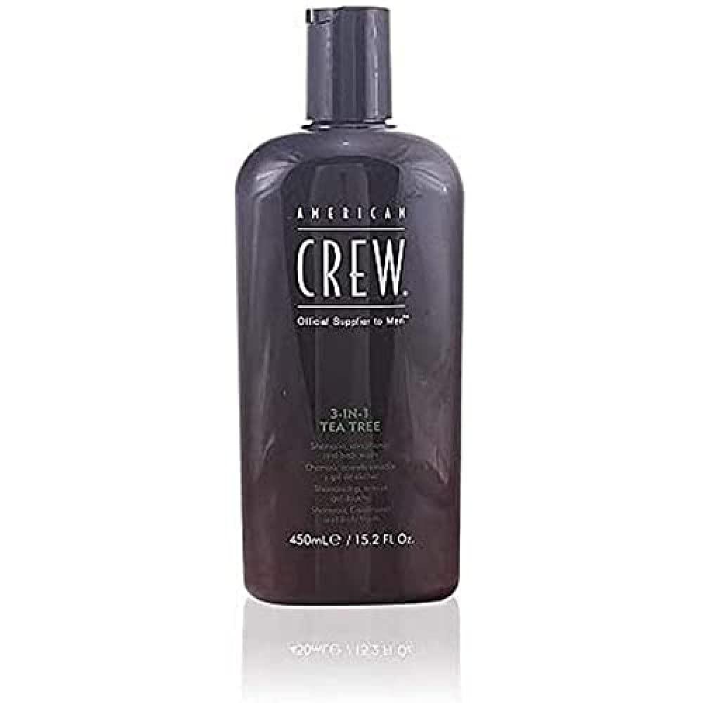 AMERICAN CREW 3-In-1 Tea Tree Body Cleanser, 15.02 Fl Oz: Premium Beauty