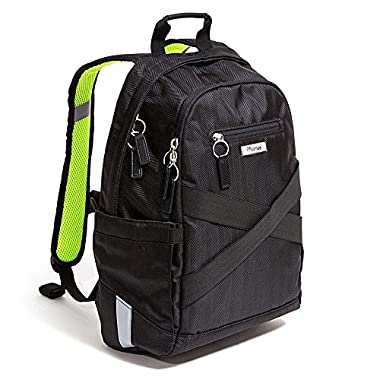 Po Campo Irving Backpack Pannier, Black