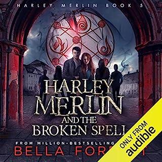 Harley Merlin and the Broken Spell cover art