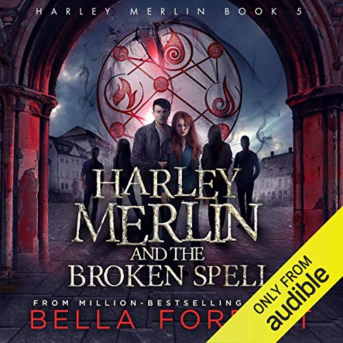 Harley Merlin and the Broken Spell cover art