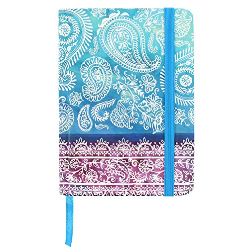 Cuaderno De Notas - Tapa Dura A5 Estilo Oceano Indico