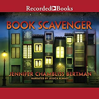 Book Scavenger                   Written by:                                                                                                                                 Jennifer Chambliss Bertman                               Narrated by:                                                                                                                                 Jessica Almasy                      Length: 8 hrs and 17 mins     3 ratings     Overall 5.0